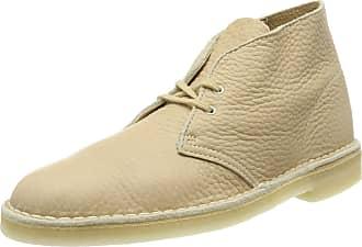 Clarks Mens Desert Classic Boots, White, 9.5 UK
