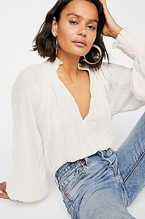 Free People Fp One Solid Smocked Top by Free People
