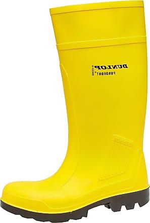 fddf4a3f207c Dunlop Mens Purofort Full Safety Yellow 47