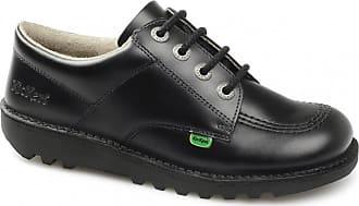 Kickers KICK LO W CORE Ladies Leather Lace-Up Shoes Black 42