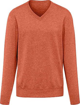 Peter Hahn V-Pullover aus 100% Premium-Kaschmir Peter Hahn Cashmere orange