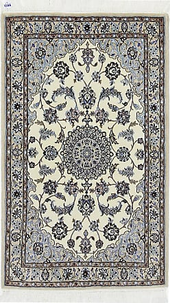 Nain Trading 121x74 Tappeto Persiano Nain 6La Beige/Viola (Annodato a mano, Persia/Iran, Lana / Seta)