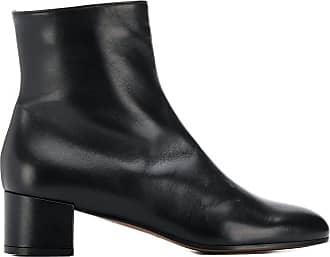 L'autre Chose Ankle boot com salto bloco - Preto