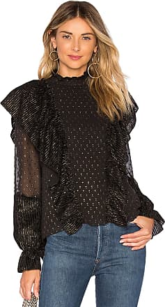 Rachel Zoe Sienna Top in Black