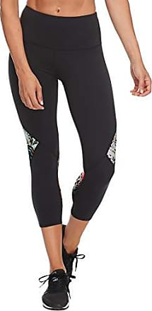 Body Glove Active Womens Libra Perfomance FIT Activewear Capri Pant, Black, Small