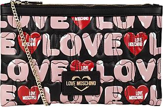 Love Moschino Umhängetasche - SCHWARZ/ ROSE/ ROT