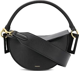 Yuzefi round top handle tote bag - Black
