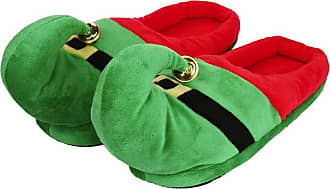 Not Applicable Clothing Christmas Elf Slippers Warm Slippers Novelty Christmas Cute Plush Elf Indoor Slippers Shoes for Women