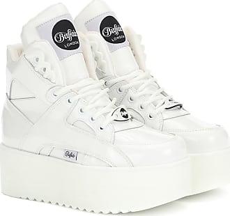 Junya Watanabe X Buffalo London Plateau-Sneakers aus Leder