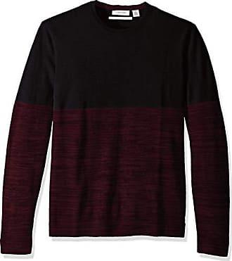 6dee8255be52 Calvin Klein Mens Merino Crew Neck Sweater