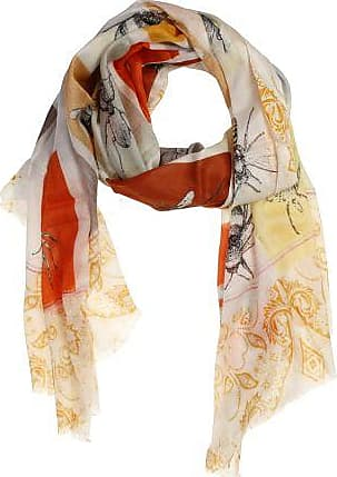 P-Modekontor Dames Sjaals in Modal (Oranje)
