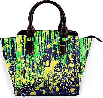 Browncin Fireflies Art Print Detachable Fashion Trend Ladies Handbag Shoulder Bag Messenger Bags