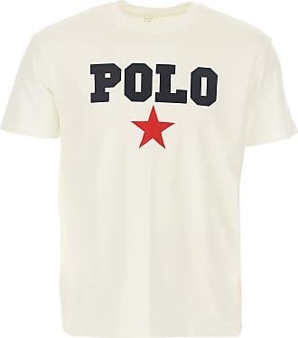 Ralph Lauren T-Shirt Uomo On Sale, Bianco, Cotone, 2019, L M S XL