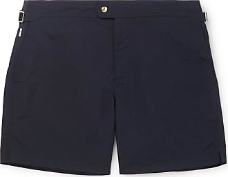 Tom Ford Slim-fit Mid-length Swim Shorts - Navy