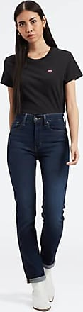 Levi's 724 High Waisted Straight Jeans - Blue