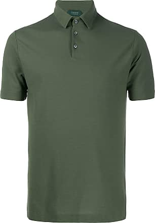 Zanone short sleeve polo shirt - Green