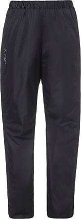 Vaude Fluid Full-Zip Regenhose Damen in black, Größe 42 / kurz