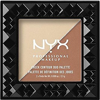 NYX Cosmetics Cheek Contour Duo Palette, Perfect Match, 0.18 Ounce