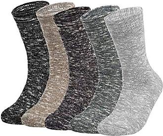 5 Paar Vbiger Damen Kuschelsocken Warme Wintersocken Cute Cartoon Muster Hausschuhsocken Anti Rutsch Noppen Socken