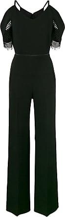 Roland Mouret Black Cold Shoulder Jumpsuit