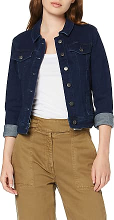 Jacqueline de Yong Womens Jdywinner Str Jacket Box DNM Noos, Blue (Medium Blue Denim Medium Blue Denim), 14 (Size: Large)