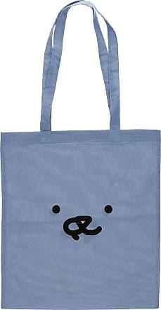 Leon Karssen Face Tote Bag light blue