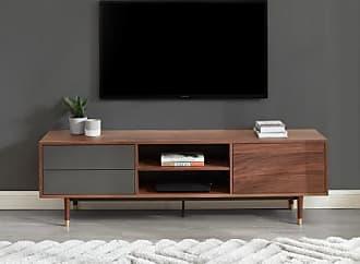 Vente-unique.ch TV-Möbel TAMARA - 1 Tür & 2 Schubladen