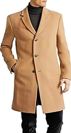 Tommy Hilfiger Mens Bryce Single Breasted Top Coat