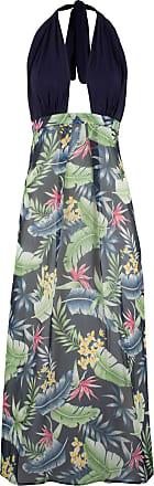 0f8d306f3476 Bonprix Dam Strandklänning i blå utan ärm - bpc selection