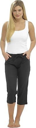 Lora Dora Womens Linen Full Length/Capri Trousers