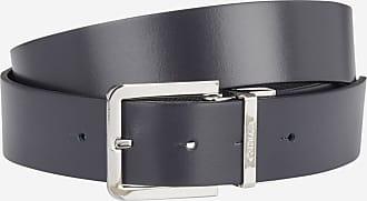 119211002cc Calvin Klein Jeans Coffret ceinture cuir + 2 boucles Noir Calvin Klein Jeans