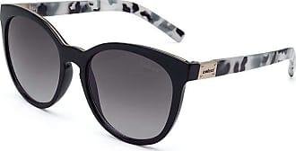 Colcci Óculos de Sol Colcci NINA C0070 ACG 33 Preto Haste Tartaruga Branco Lente Cinza Degradê Tam 53