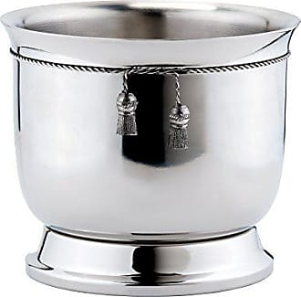 Old Dutch International Double-Walled Wine Cooler with Tie Knot, Stainless Steel