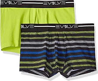 aa8152e1491f 2(x)ist Evolve Mens Cotton Stretch No Show Trunk Underwear Multipack  Underwear,