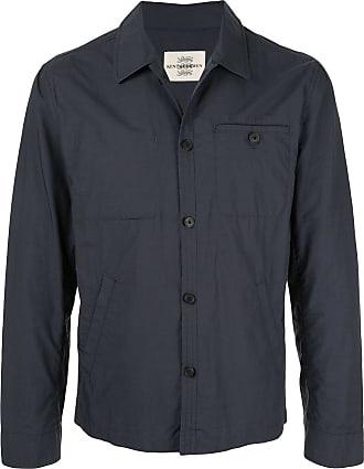 Kent & Curwen short shirt jacket - Blue