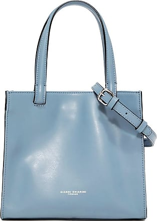 Gianni Chiarini medium size cube hand bag color light blue