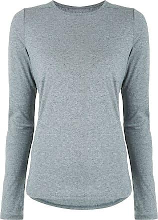 Nimble Activewear Blusa mangas longas Warming Up - Cinza