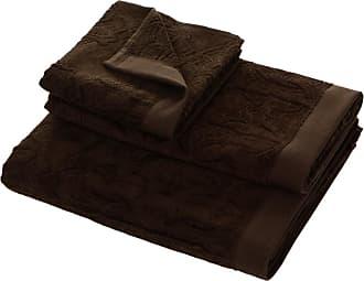 Roberto Cavalli Logo Towel - Brown 833 - Hand Towel