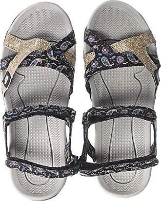 7ab81ee17616 Muk Luks Womens Womens Ophelia Sport Shoe-Navy Sandal