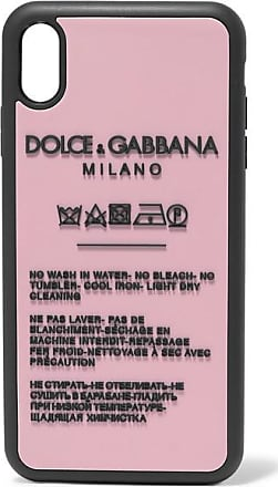 Dolce & Gabbana Printed Silicone Iphone Xs Max Case - Pink