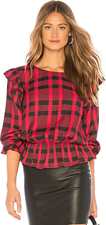Sanctuary Millie Ruffle Blouse in Red