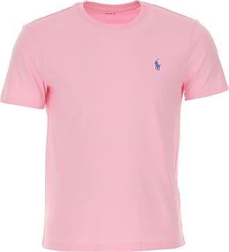Ralph Lauren T-Shirt Uomo On Sale, Rosa, Cotone, 2019, L M S XL