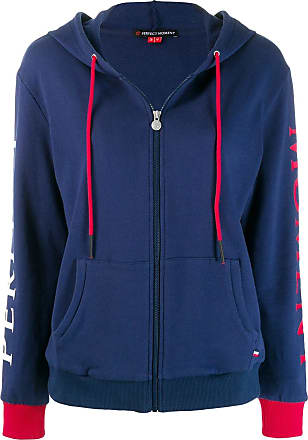 Perfect Moment zipped hoodie - Azul