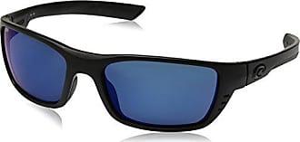 2d2a95366e Costa Costa del Mar Mens Whitetip Polarized Iridium Rectangular Sunglasses