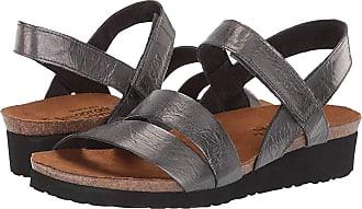 a54de965a191 Naot Kayla (Crinkle Steel Leather) Womens Sandals