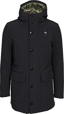 Blauer Herren Jacke in Schwarz XL