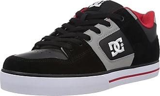 DC Mens Pure Skateboarding Shoes D0300660 Grey 8 UK, 42 EU, 9 US