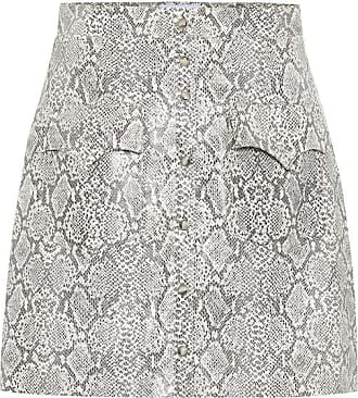 Nanushka Exclusive to Mytheresa - Erin faux snakeskin skirt