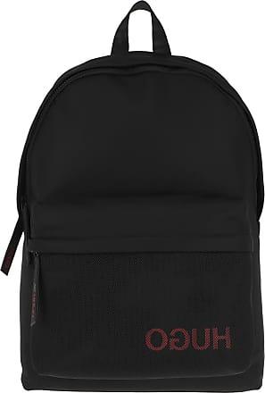 HUGO BOSS Backpacks - Men Record Backpack Black - black - Backpacks for ladies