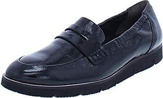 3800d8fddf5 Paul Green Womens NICO LFR Loafer Flat Black Crinkled Patent 6.5 Medium US